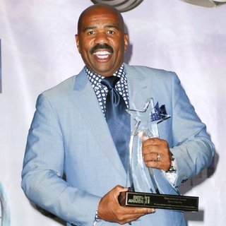 Steve Harvey in The 11th Annual BET Awards - Press Room