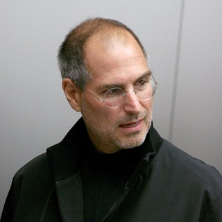 Steve Jobs in Opening of The New Apple Store The Cube
