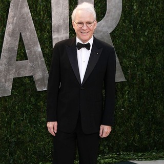 Steve Martin in 2012 Vanity Fair Oscar Party - Arrivals