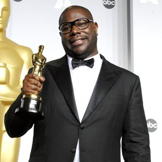 Steve McQueen in The 86th Annual Oscars - Press Room