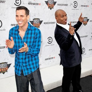 Steve-O, Mike Tyson in Comedy Central Roast of Charlie Sheen - Arrivals