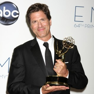 Steven Levitan in 64th Annual Primetime Emmy Awards - Press Room