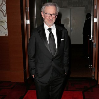 Steven Spielberg in 2013 Writers Guild Awards - Press Room
