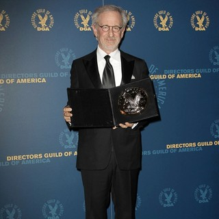 Steven Spielberg in 65th Annual Directors Guild of America Awards - Press Room