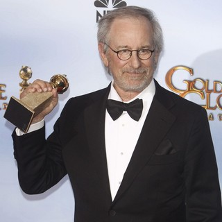 Steven Spielberg in The 69th Annual Golden Globe Awards - Press Room