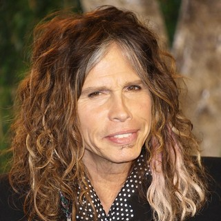 Steven Tyler in 2012 Vanity Fair Oscar Party - Arrivals