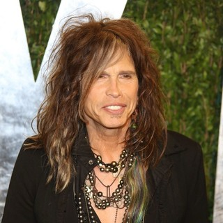 Steven Tyler in 2013 Vanity Fair Oscar Party - Arrivals