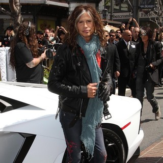 Steven Tyler, Aerosmith in Aerosmith Announce Their New Global Warming Tour