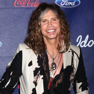 Steven Tyler in The American Idol Season 11 Top 13 Party