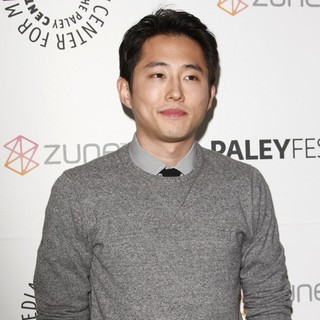 Steven Yeun in The Walking Dead Paley Festival 2011 Screening - Arrivals - steven-yeun-paley-festival-2011-01