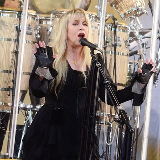 Stevie Nicks in Stevie Nicks Performs as Part of ABC's Good Morning America Summer Concert Series