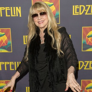 Stevie Nicks in Led Zeppelin Celebration Day Press Conference