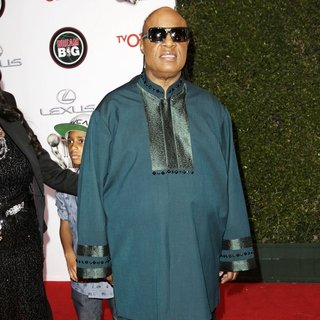 Stevie Wonder in 45th NAACP Image Awards - Arrivals