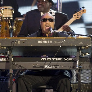 Stevie Wonder in The Diamond Jubilee Concert