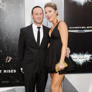 Josh Stewart, Deanna Brigidi in The Dark Knight Rises New York Premiere - Arrivals