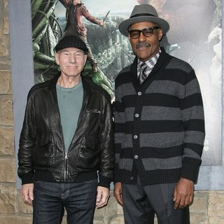 Patrick Stewart, Michael Dorn in Premiere of Jack the Giant Slayer