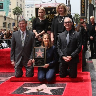 Jodie Foster Honored with Star on The Hollywood Walk of Fame