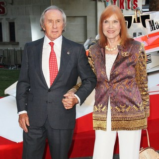 Jackie Stewart, Helen McGregor in World Premiere of Rush - Arrivals