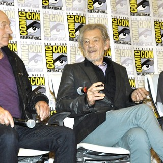 Patrick Stewart, Ian McKellen, Halle Berry in Comic-Con International 2013 - X-Men: Days of Future Past - Press Conference
