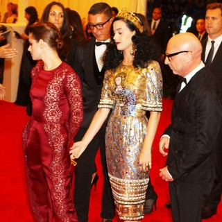 Kristen Stewart, Katy Perry in PUNK: Chaos to Couture Costume Institute Gala