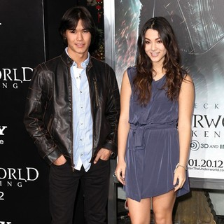 BooBoo Stewart, Fivel Stewart in Premiere of Screen Gems' Underworld: Awakening - Arrivals