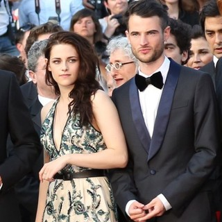 Kristen Stewart, Tom Sturridge in On the Road Premiere - During The 65th Cannes Film Festival