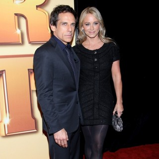Ben Stiller, Christine Taylor in World Premiere of Tower Heist - Arrivals