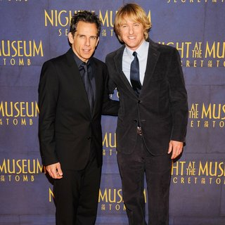 New York Premiere of Night at the Museum: Secret of the Tomb - Red Carpet Arrivals