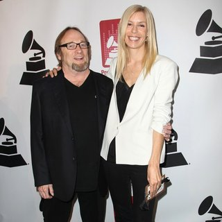 Stephen Stills, Kristen Hathaway in 56th GRAMMY Awards - P and E Wing Event Honoring Neil Young