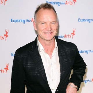 Sting in 6th Annual Exploring The Arts Fundraising Gala - Arrivals
