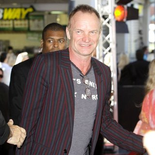 Sting in The Australian Premiere of Next Three Days - Arrivals