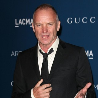Sting in LACMA 2013 Art and Film Gala Honoring Martin Scorsese and David Hockney Presented by Gucci