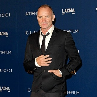 Sting - LACMA 2013 Art and Film Gala Honoring Martin Scorsese and David Hockney Presented by Gucci