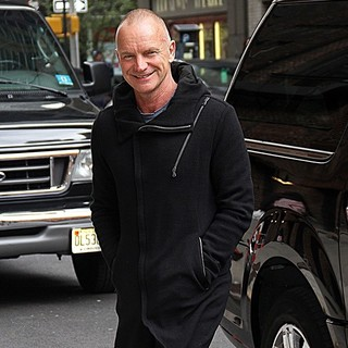 Sting in The Late Show with David Letterman - Arrivals