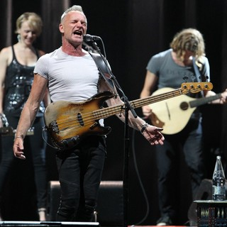Sting in Sting Performing Live