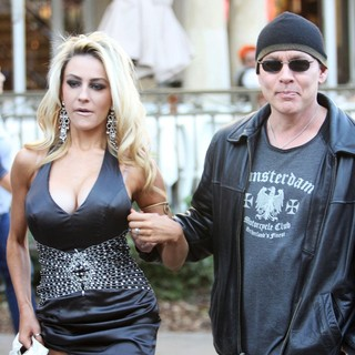 Courtney Stodden, Doug Hutchison in Courtney Stodden and Doug Hutchison at The Grove