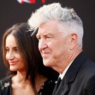 Emily Stofle, David Lynch in 41st AFI Life Achievement Award Honoring Mel Brooks - Red Carpet