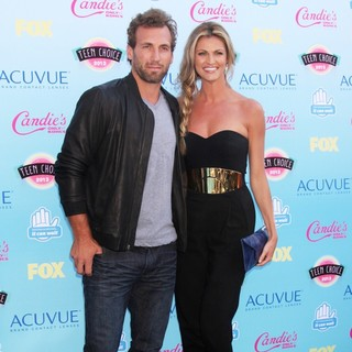 Jarret Stoll, Erin Andrews in 2013 Teen Choice Awards