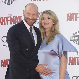 Corey Stoll, Nadia Bowers in Premiere of Marvel's Ant-Man - Red Carpet Arrivals