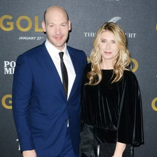 Corey Stoll, Nadia Bowers-World Premiere of Gold - Red Carpet Arrivals