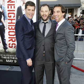 Nicholas Stoller, Evan Goldberg, James Weaver in World Premiere of Universal Pictures' Neighbors