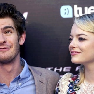 Andrew Garfield, Emma Stone in The Spanish Premiere of The Amazing Spider-Man