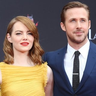 Ryan Gosling and Emma Stone Hand and Footprint Ceremony
