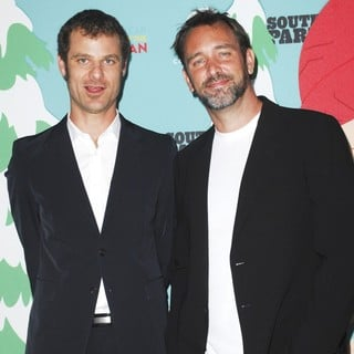 Matt Stone, Trey Parker in South Park's 15th Anniversary Party