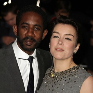 Rhashan Stone, Olivia Williams in London Evening Standard Theatre Awards - Arrivals