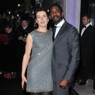 Olivia Williams, Rhashan Stone in London Evening Standard Theatre Awards - Arrivals