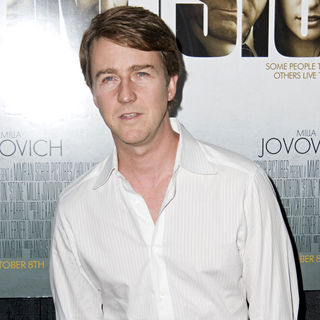 Edward Norton in New York Premiere of 'Stone' - Arrivals