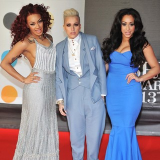 Stooshe in The 2013 Brit Awards - Arrivals