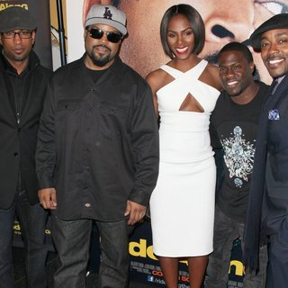 Tim Story, Ice Cube, Tika Sumpter, Kevin Hart, William Packer in Universal Pictures Premiere of Ride Along