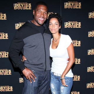 Michael Strahan, Nicole Murphy in The New York Premiere of The Devil's Double